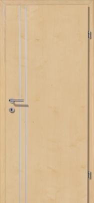 Decora-CPL Ahorn 02S mit 2 Alulisenen