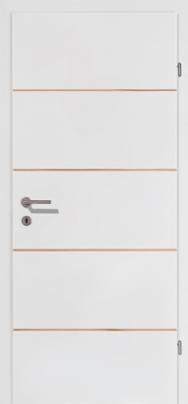 M-Line 4 weiss mit 4 Kernbuchelisenen