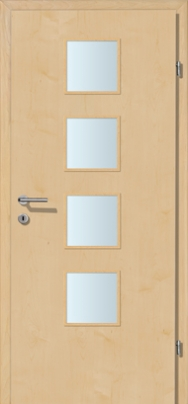Decora-CPL Ahorn mit Glaslichte A4