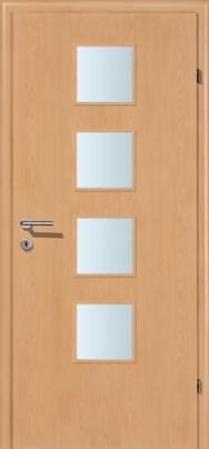 Decora-CPL Buche mit Glaslichte A4
