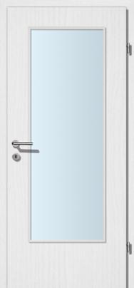 Decora-CPL Esche weiss mit Glaslichte CEN