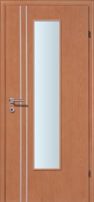 Decora-CPL Kirsche 02S mit 2 Alulisenen mit Glaslichte EN