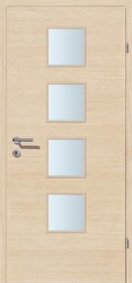 Decora-CPL Weisseiche mit Glaslichte A4