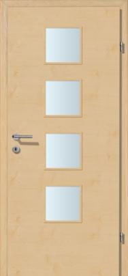 Decora-CPL Bergahorn mit Glaslichte A4