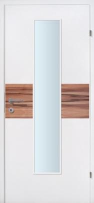 Duo 02 weiss mit ind. Apfelbaumeinlage mit Glaslichte EN