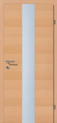 Creativ Buche querfurniert mit Glaslichte Panorama PN6