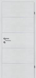 Decora-CPL Schneeweiss 04 mit 4 Alulisenen
